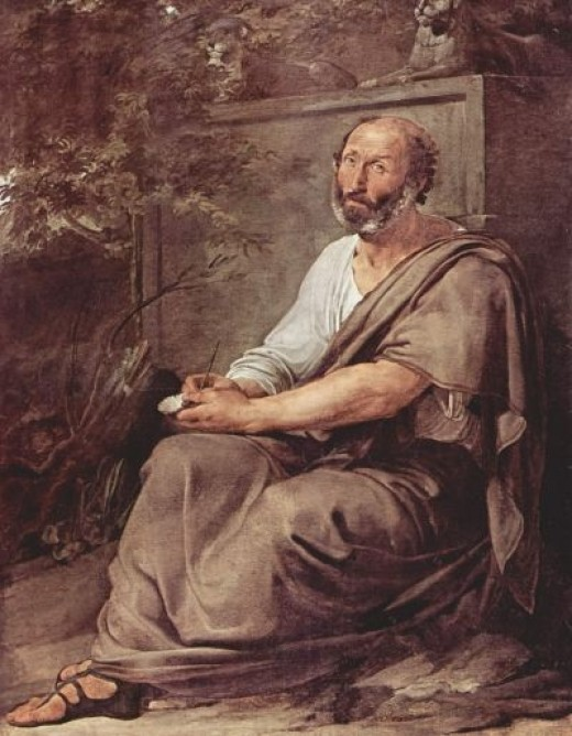 The Greek Philosopher Aristotle